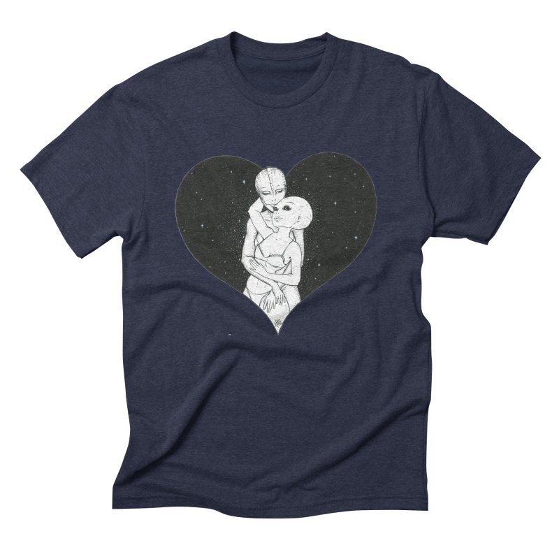 Love More ❤︎ Men's Triblend T-Shirt by Natalie McKean