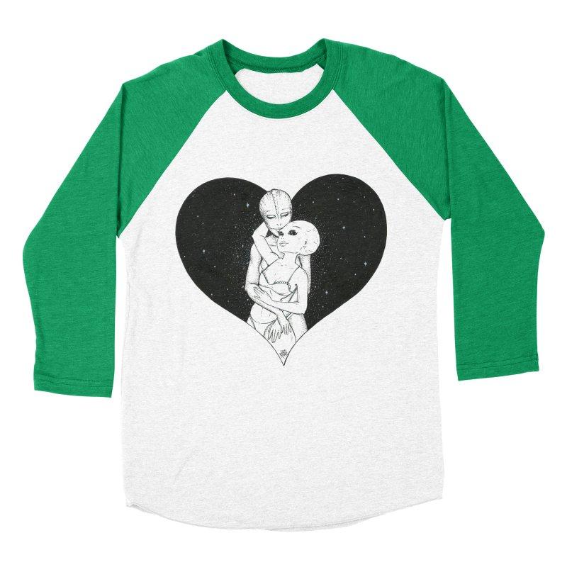 Love More ❤︎ Women's Baseball Triblend Longsleeve T-Shirt by Natalie McKean