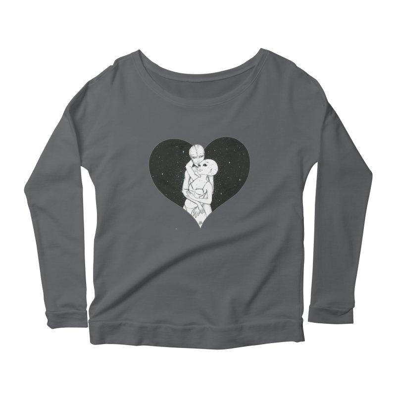 Love More ❤︎ Women's Longsleeve T-Shirt by Natalie McKean