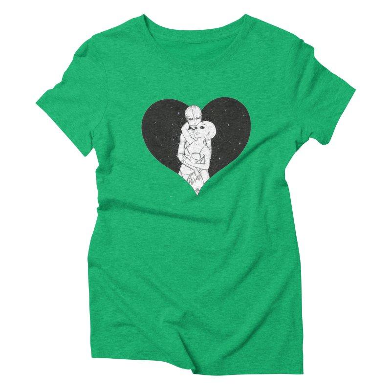 Love More ❤︎ Women's Triblend T-Shirt by Natalie McKean