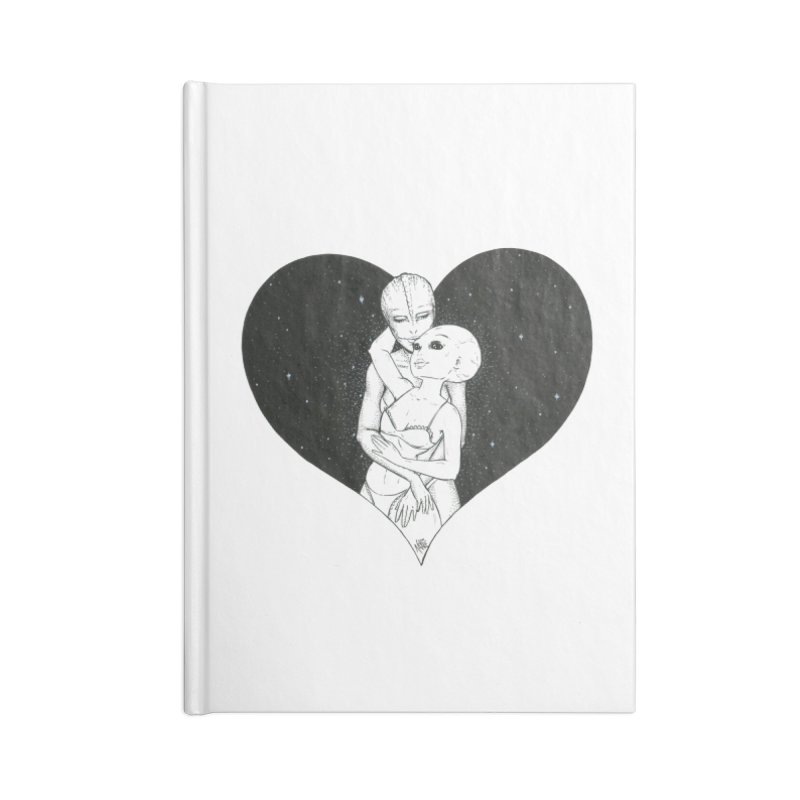 Love More ❤︎ Accessories Blank Journal Notebook by Natalie McKean