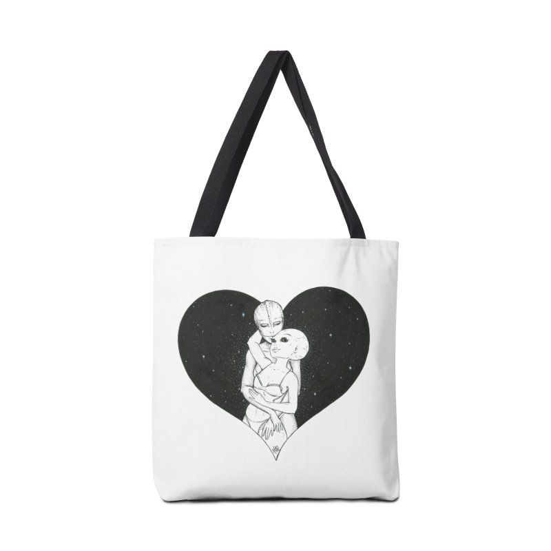 Love More ❤︎ Accessories Tote Bag Bag by Natalie McKean