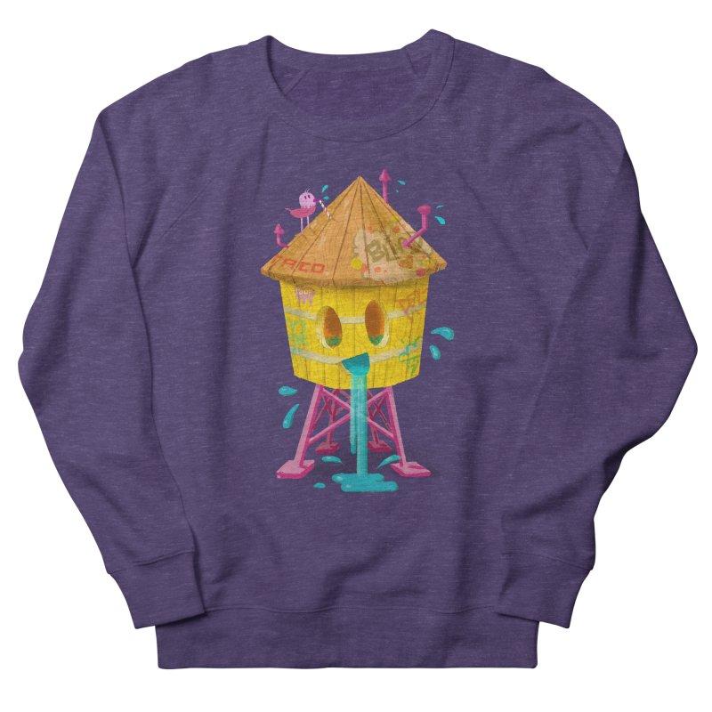 Water Tower Men's Sweatshirt by Nate Bear