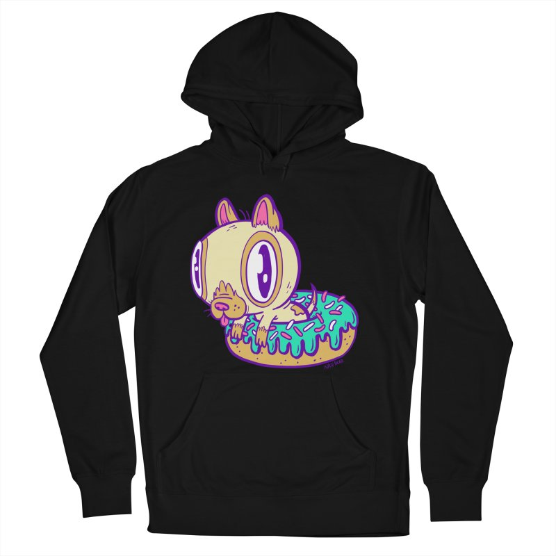 Puppy Chillin' In Donut Men's Pullover Hoody by Nate Bear