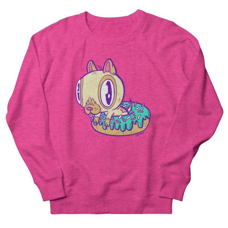 Puppy Chillin' In Donut Women's Sweatshirt by Nate Bear