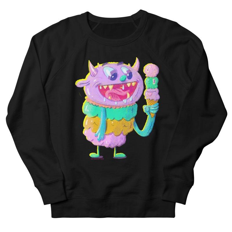 Ice Cream Monster Women's Sweatshirt by Nate Bear