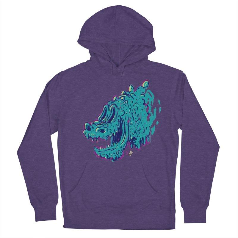 Dino Rex Men's Pullover Hoody by Nate Bear