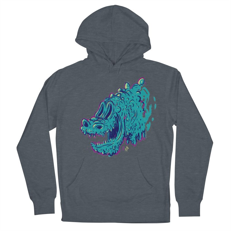 Dino Rex Men's Pullover Hoody by Nate Bear