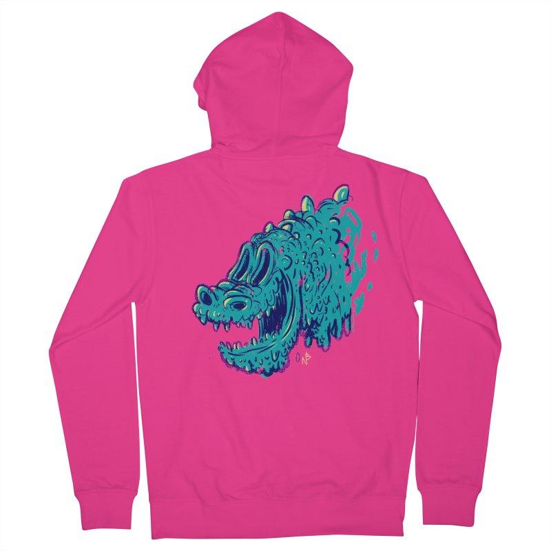 Dino Rex Men's Zip-Up Hoody by Nate Bear
