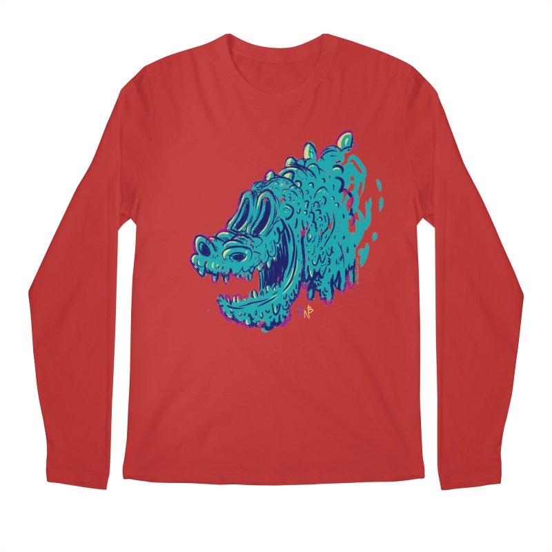 Dino Rex Men's Longsleeve T-Shirt by Nate Bear