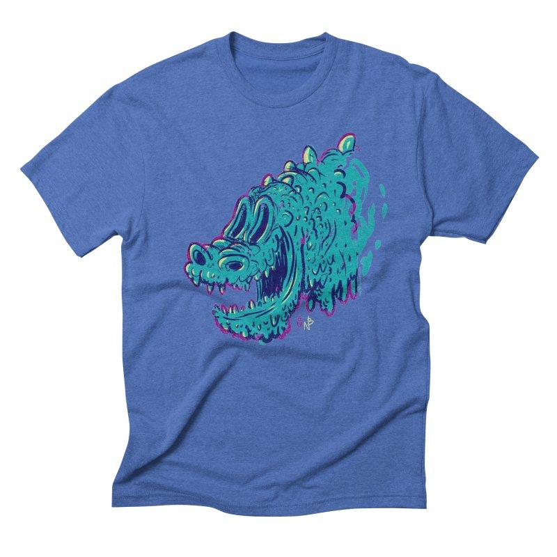Dino Rex Men's Triblend T-Shirt by Nate Bear