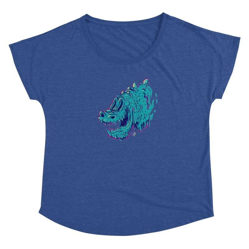 Dino Rex Women's Dolman by Nate Bear