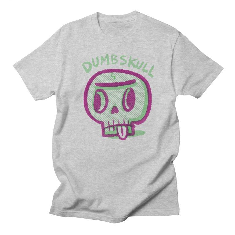 Dumbskull (v1) Men's T-Shirt by Nate Bear