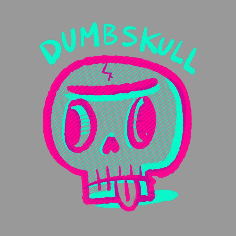 Dumbskull (v2) by Nate Bear