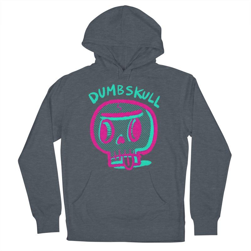 Dumbskull (v2) Men's Pullover Hoody by Nate Bear