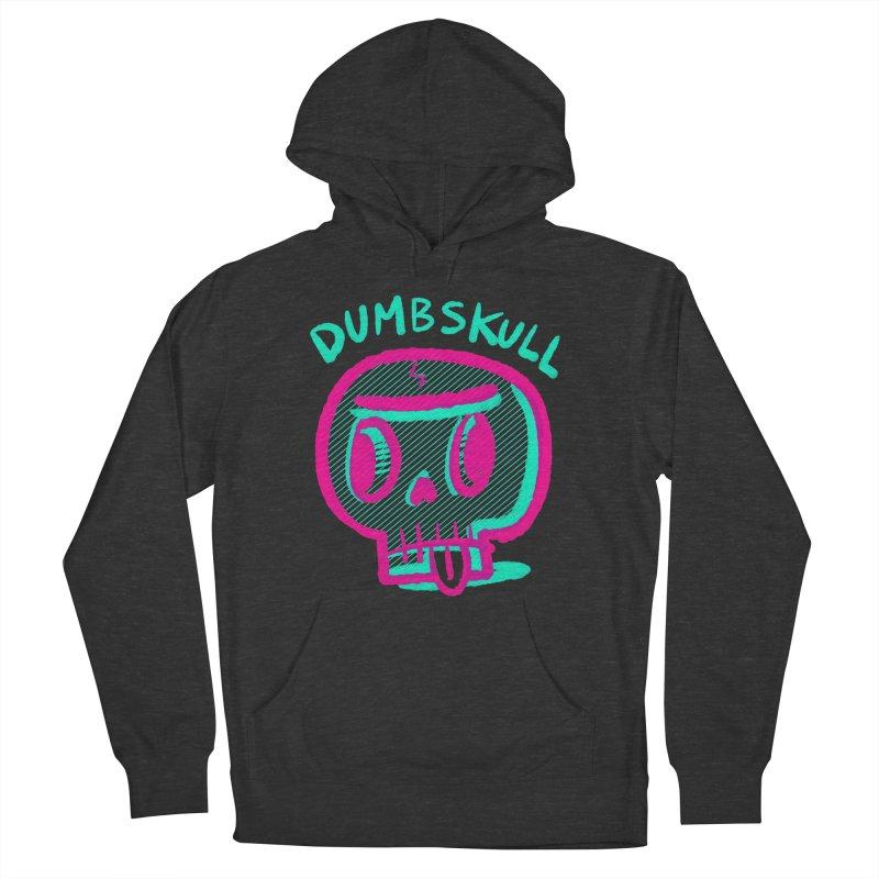 Dumbskull (v2) Men's Pullover Hoody by Nate Bear