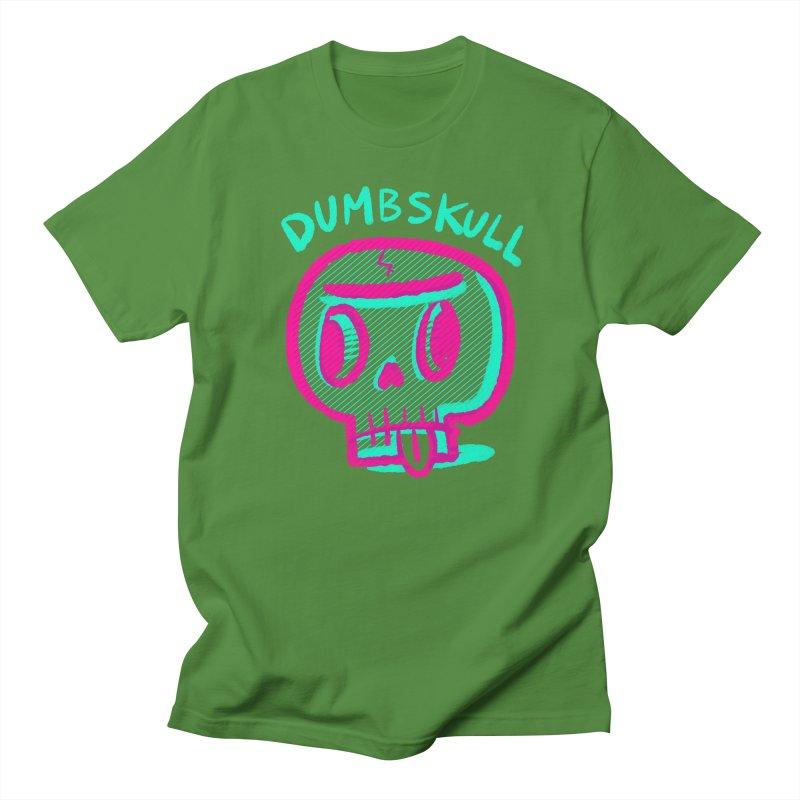 Dumbskull (v2) Men's T-Shirt by Nate Bear