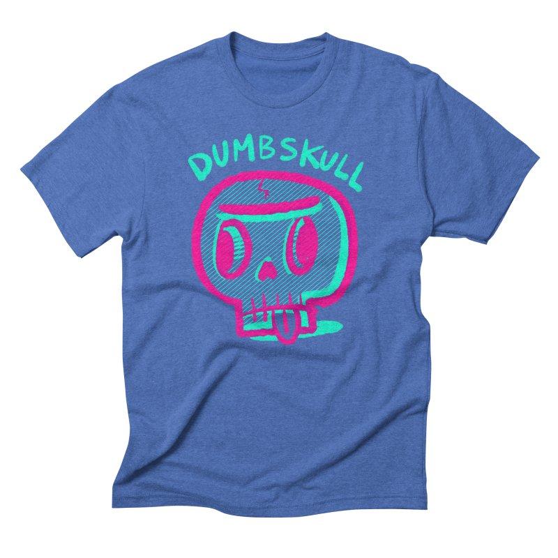Dumbskull (v2) Men's Triblend T-shirt by Nate Bear