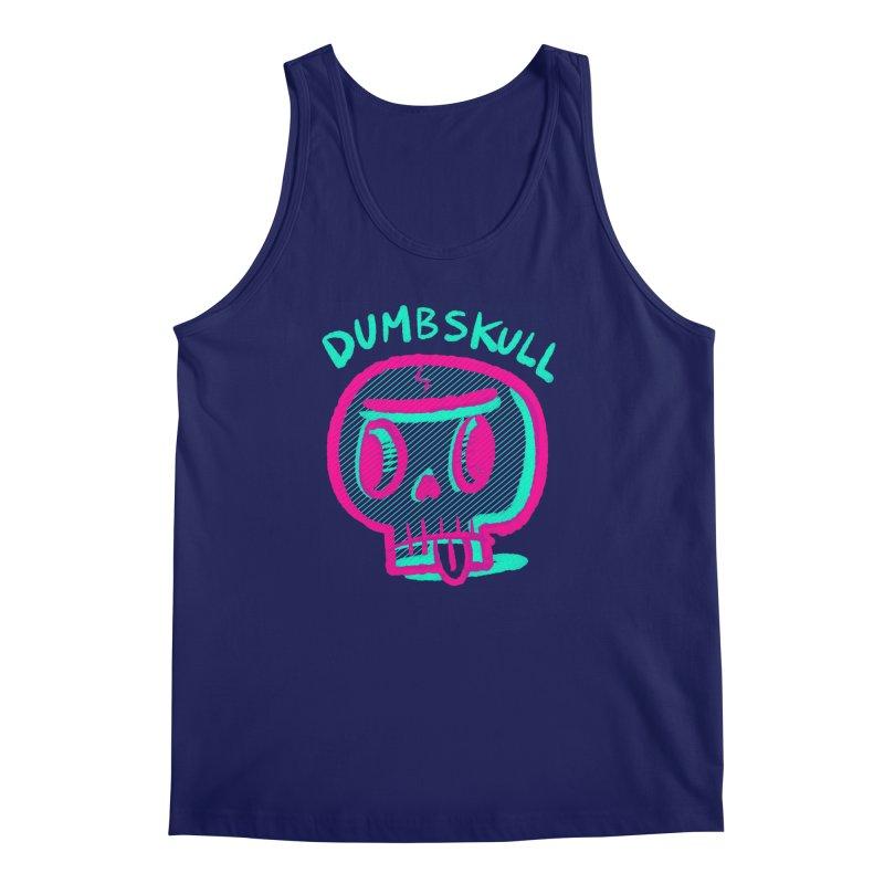 Dumbskull (v2) Men's Tank by Nate Bear