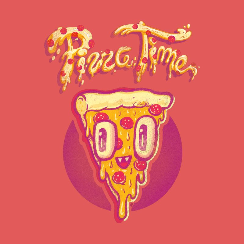 Pizza Time None  by Nate Bear