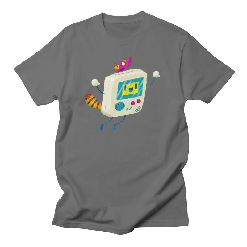 Raccoon Game Bro Men's T-Shirt by Nate Bear