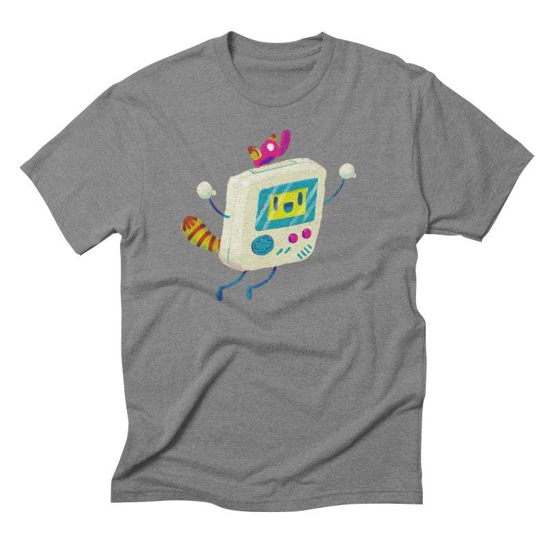 Raccoon Game Bro Men's Triblend T-shirt by Nate Bear
