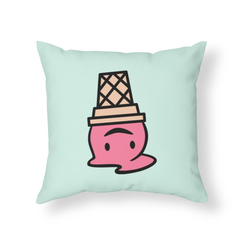 It's Fine Home Throw Pillow by Nate Christenson