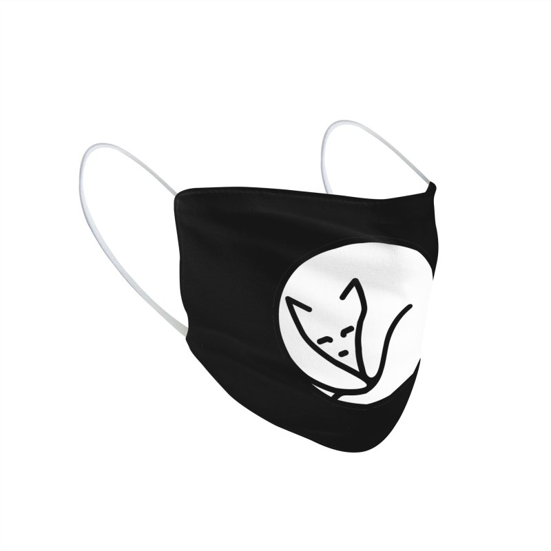 Purrfect Circle Accessories Face Mask by Nate Christenson