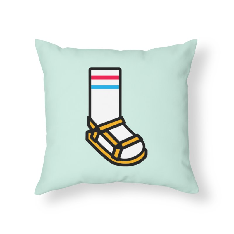 Dynamic Duo Home Throw Pillow by Nate Christenson