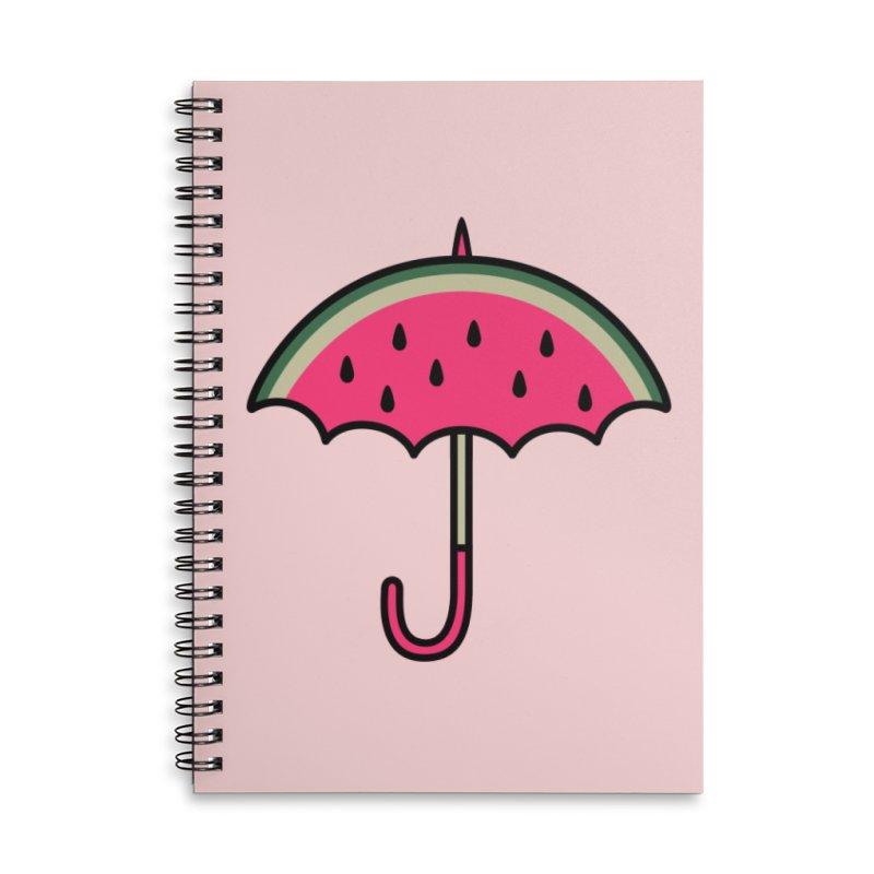 Summer Rain Accessories Notebook by Nate Christenson