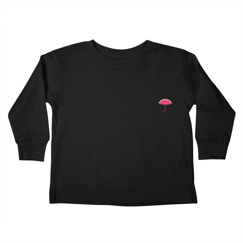 Summer Rain Kids Toddler Longsleeve T-Shirt by Nate Christenson