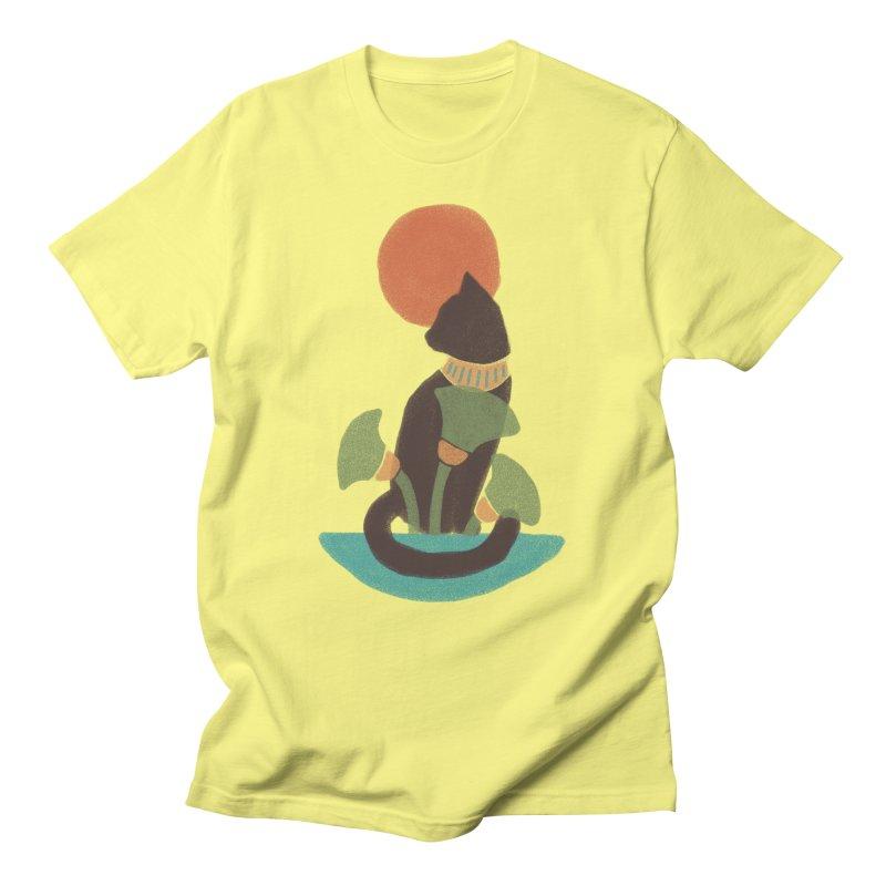 Egyptian Cat Men's T-Shirt by Nate Christenson