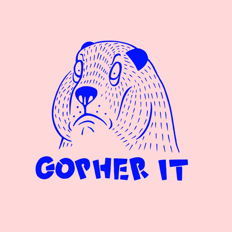 Gopher It Home Fine Art Print by Nate Christenson
