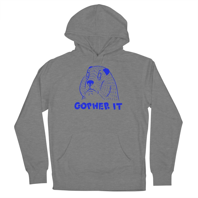 Gopher It Men's French Terry Pullover Hoody by Nate Christenson