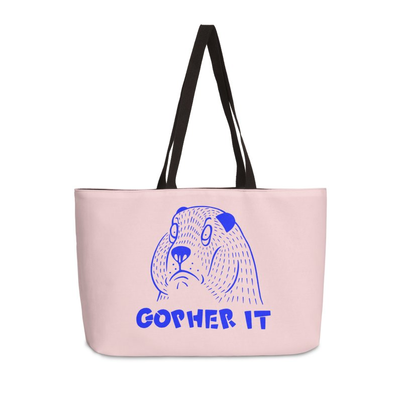 Gopher It Accessories Weekender Bag Bag by Nate Christenson
