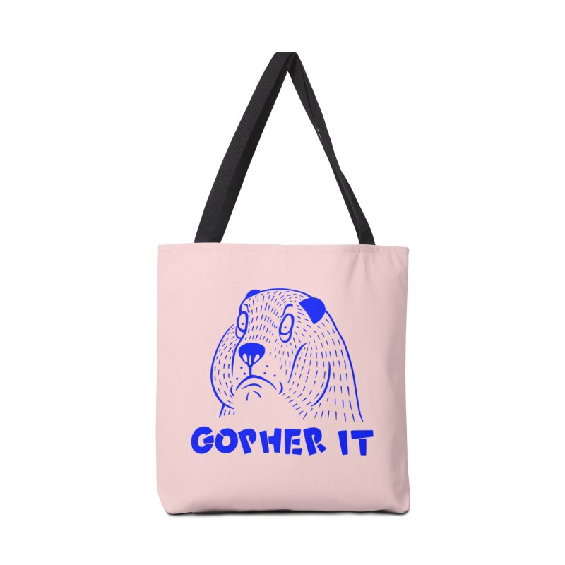 Gopher It Accessories Bag by Nate Christenson