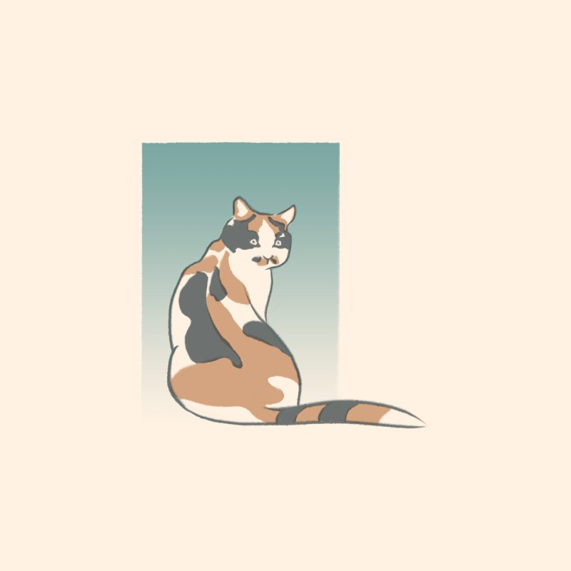 Japanese Cat Accessories Phone Case by Nate Christenson