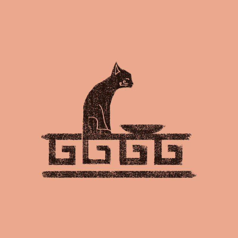 Greek Cat Men's T-Shirt by Nate Christenson