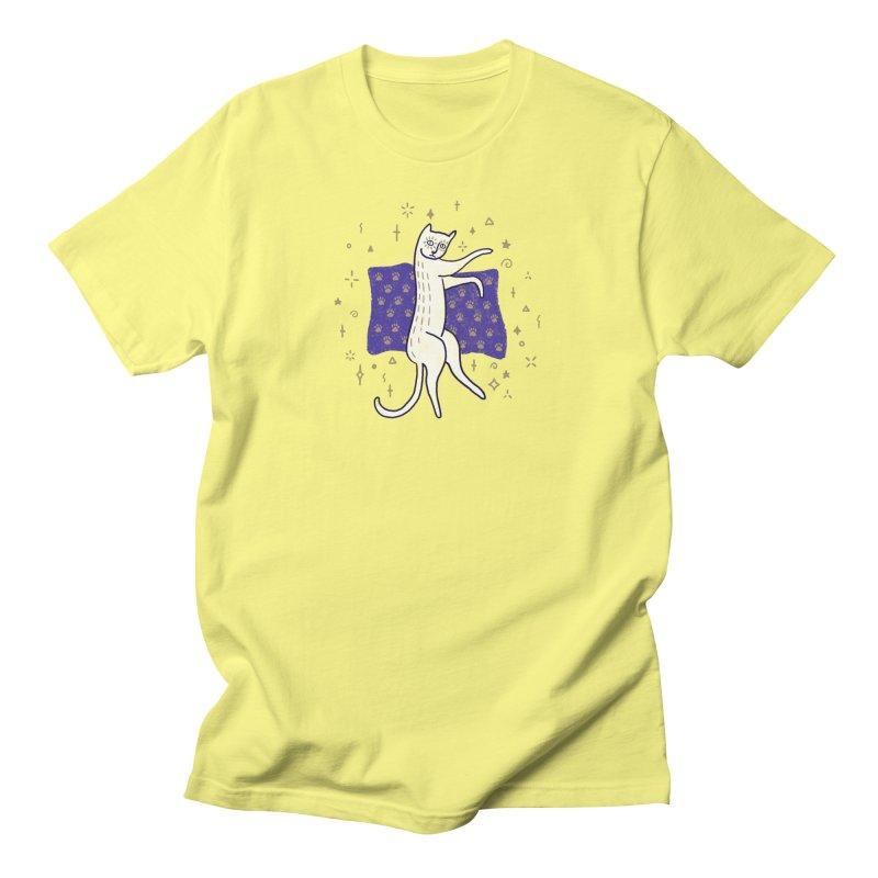 Medieval Cat Men's T-Shirt by Nate Christenson