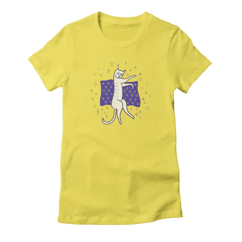 Medieval Cat Women's T-Shirt by Nate Christenson