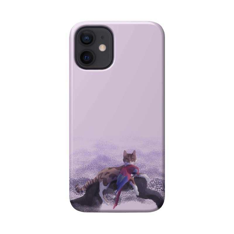 Romanticist Cat Accessories Phone Case by Nate Christenson