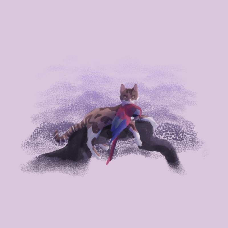 Romanticist Cat Men's T-Shirt by Nate Christenson