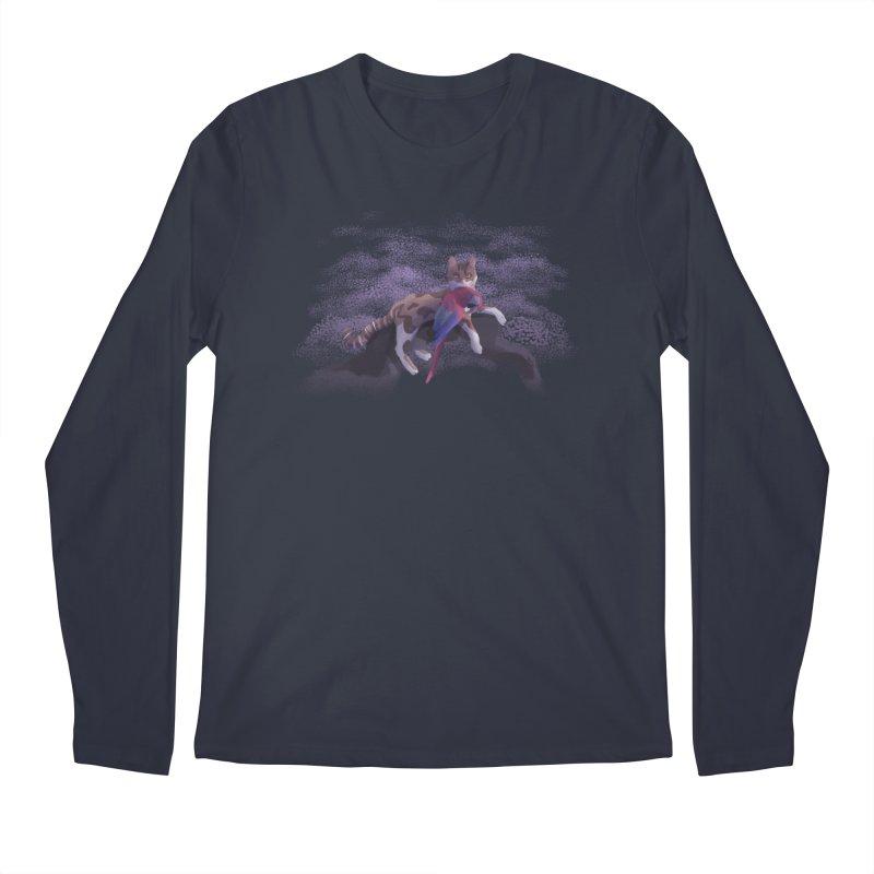 Romanticist Cat Men's Longsleeve T-Shirt by Nate Christenson