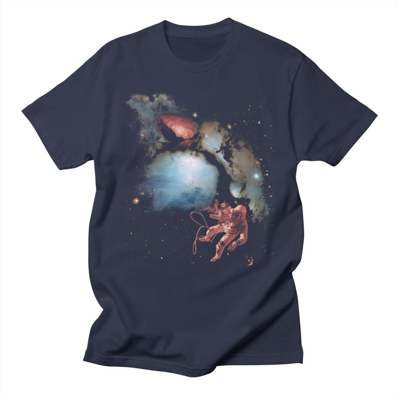 All is Lost in Men's T-Shirt Navy by Nate Christenson