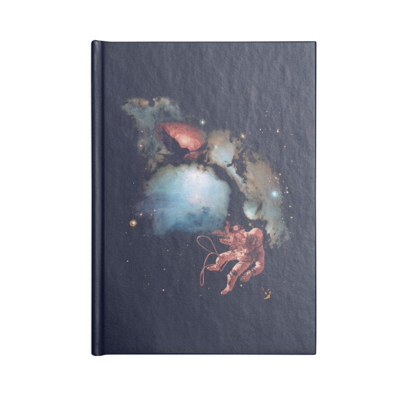 All is Lost Accessories Lined Journal Notebook by Nate Christenson