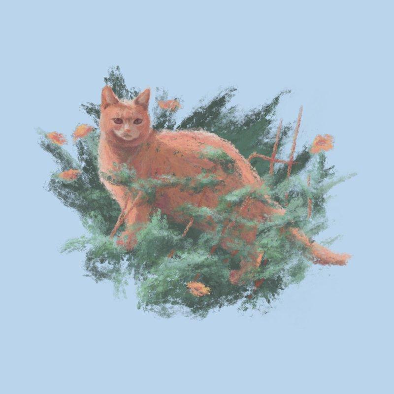 Impressionist Cat Men's T-Shirt by Nate Christenson