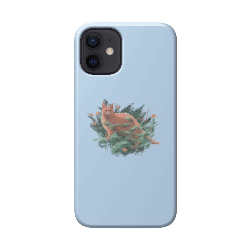 Impressionist Cat Accessories Phone Case by Nate Christenson