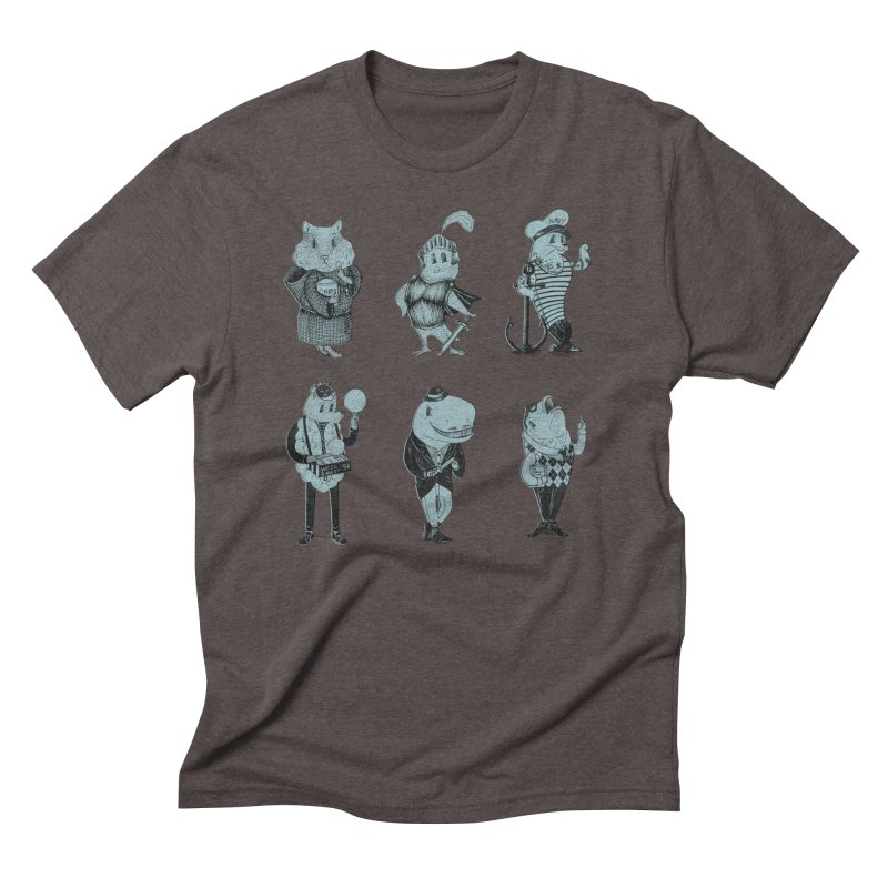 Know Your Animals Men's Triblend T-shirt by Nate Christenson