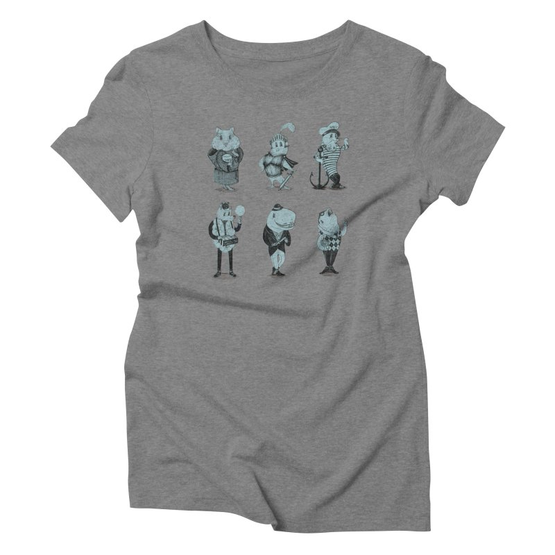 Know Your Animals Women's T-Shirt by Nate Christenson