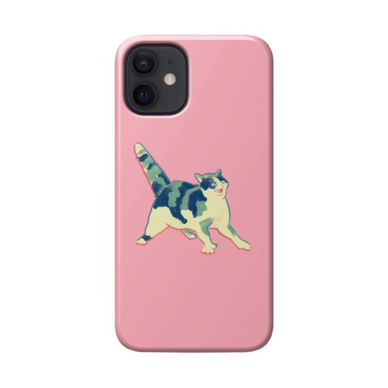 Fauvist Cat Accessories Phone Case by Nate Christenson